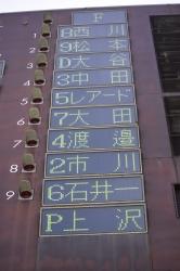 2017.9.5日本ハムスタメン