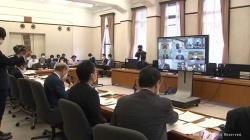 県と市町村がオンライン会議(KNB)