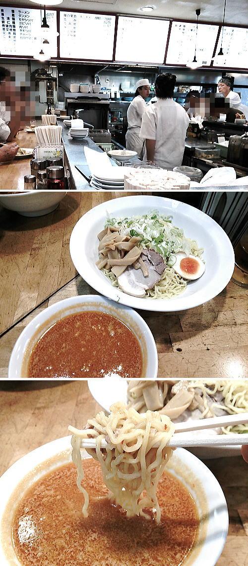 天龍 銀座街店 タンタンつけ麺