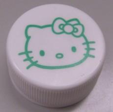 キティ緑茶のふた