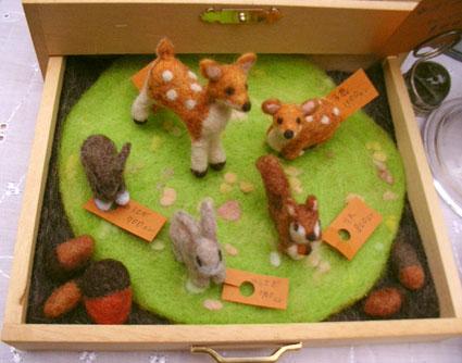 フェルト動物5種類