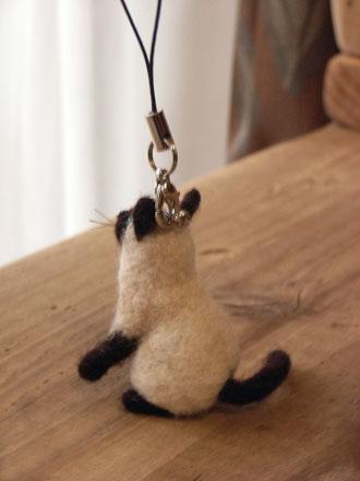 フェルトシャム猫