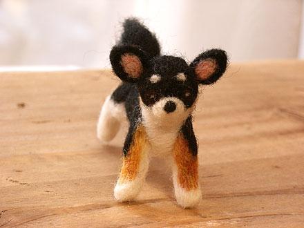 フェルト犬 チワワ