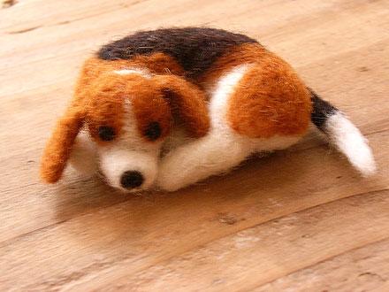 フェルト犬 ビーグル