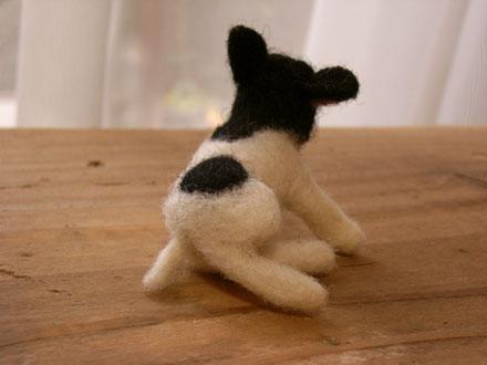 フェルト犬 フレンチブルドッグ