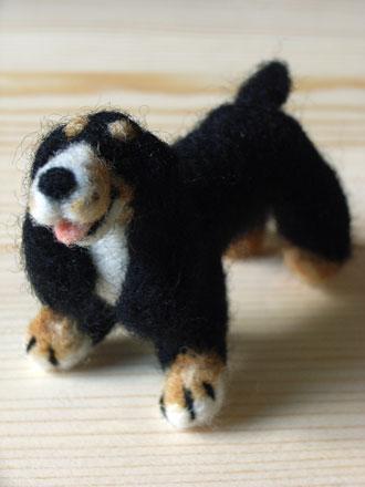 フェルト犬イングリッシュコッカー