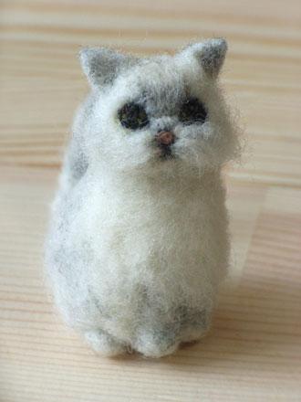 フェルトペルシャ猫メイちゃん