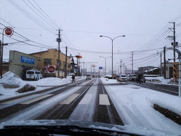 弘前雪かき要員最終日