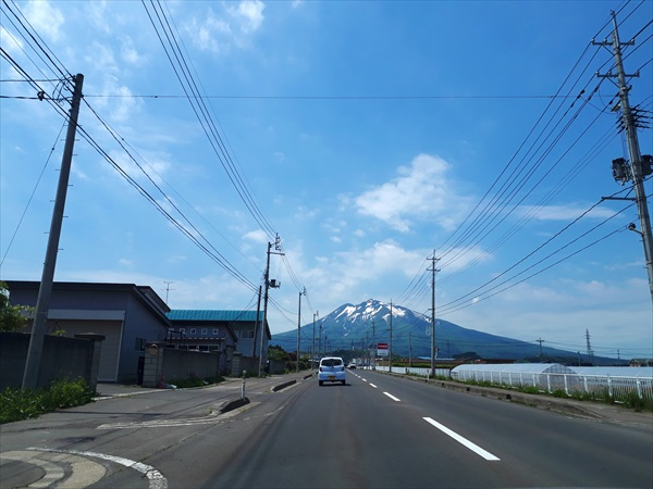弘前Vol.1:岩木山と旨旨