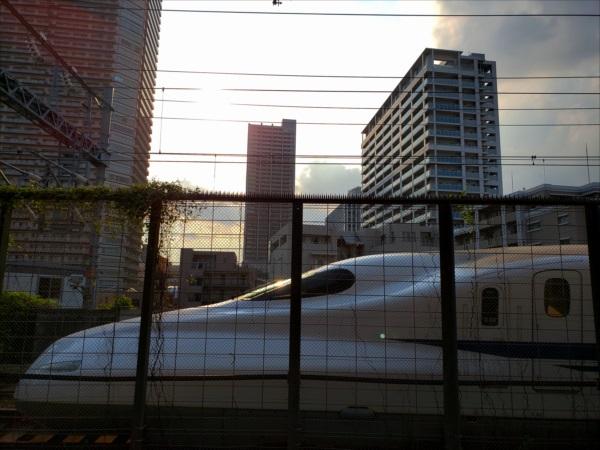 新幹線すれ違い