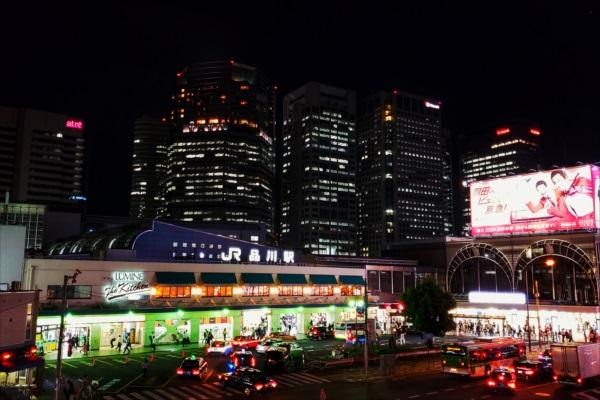 品川駅夜景