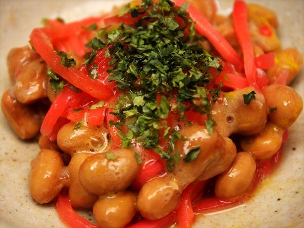 紅生姜納豆