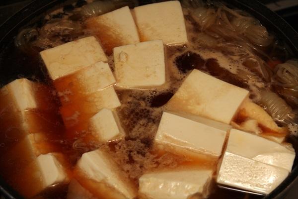 肉豆腐仕込み