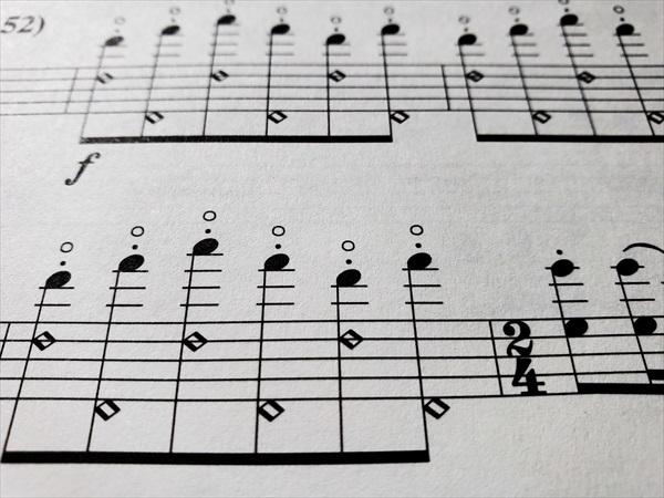 バルトーク楽譜
