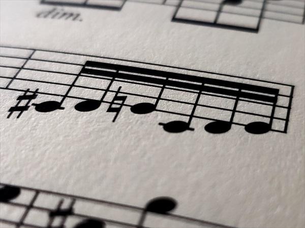 メンデルスゾーンの楽譜