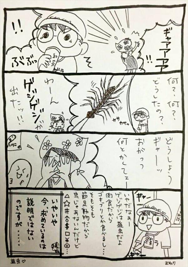 おがっつ妻4コマ漫画