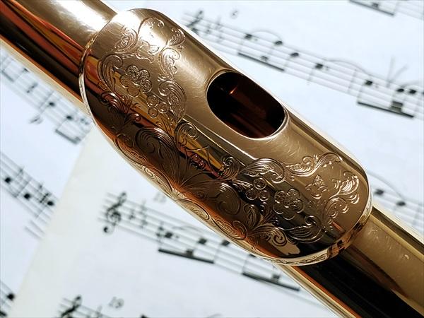 頭部管と楽譜