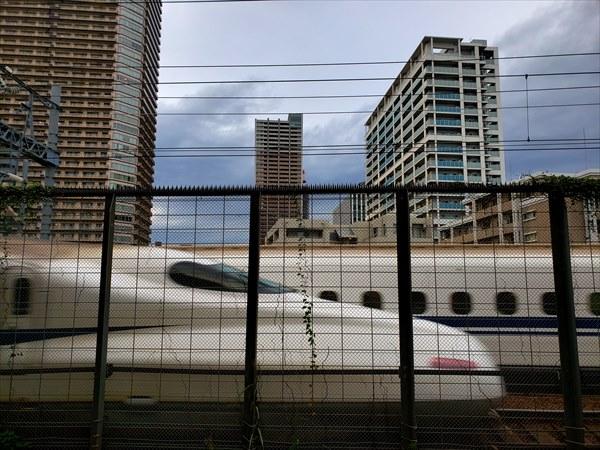 小杉新幹線すれ違い