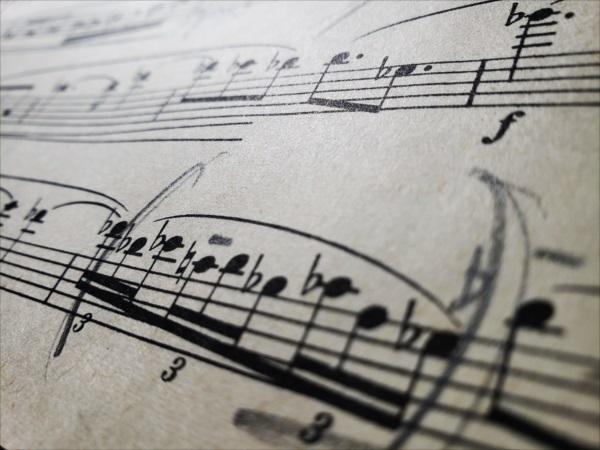 イベールの楽譜