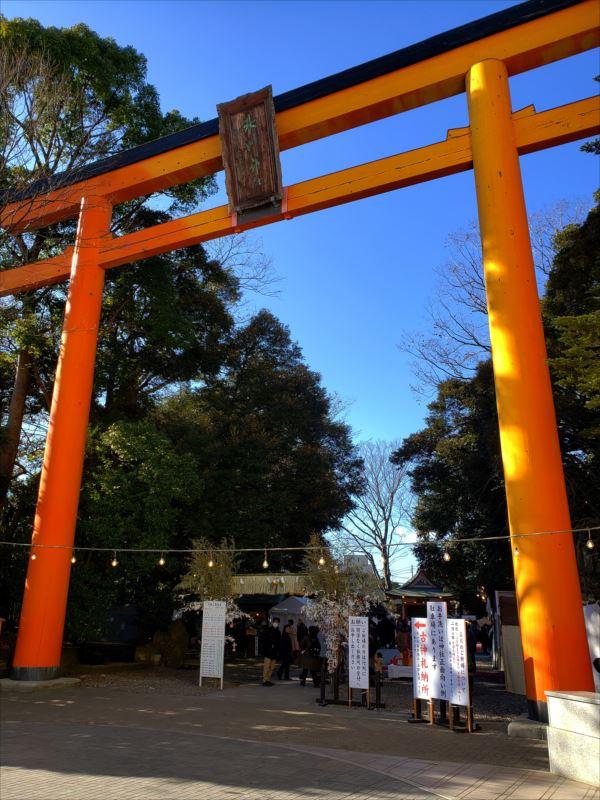 うどん、めんこや、氷川神社