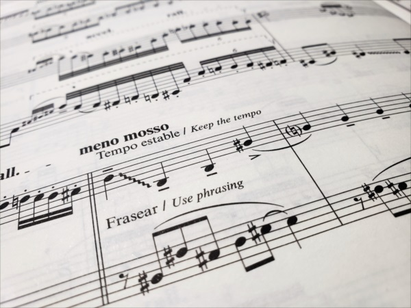 ピアソラ楽譜