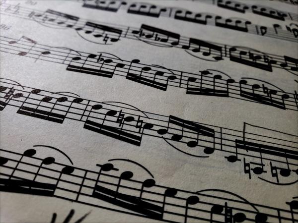 バッハの楽譜