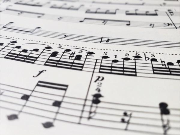 ベートーヴェンの楽譜