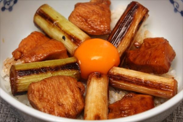 鶏胸肉の照り焼き丼