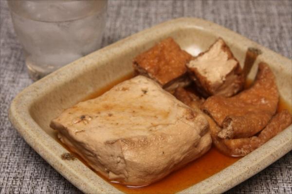 お豆腐と生揚げの煮物