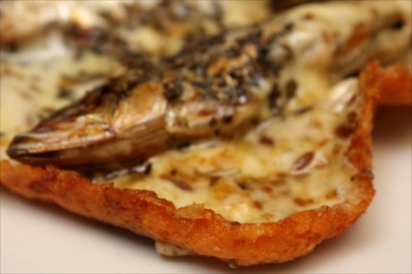 めざしのチーズクミン焼き