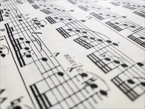 ロレンツォ:ヴェニスの楽譜