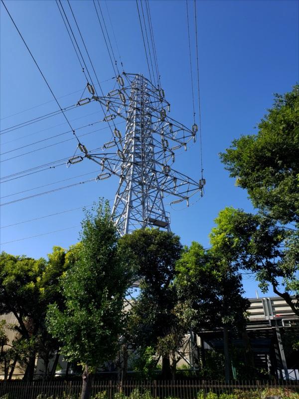 昭島線24号鉄塔