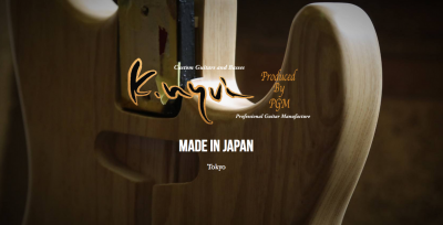 K.Nyui Custom Guitars 宮地楽器