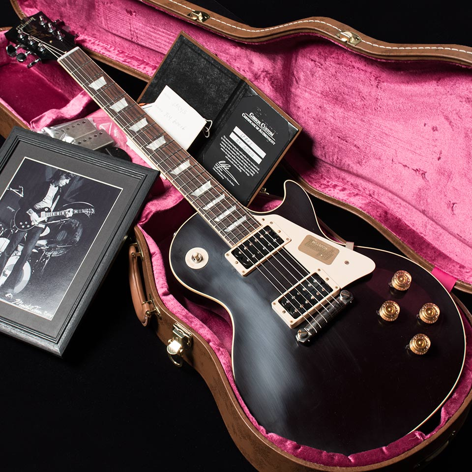 Gibson Custom Shop/Standard Historic 1954 Les Paul Reissue VOS (Oxblood) w/World Rock Photo - Jeff Beck