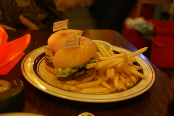 ららぽーとでハンバーガー