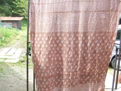 インドで染めた布2