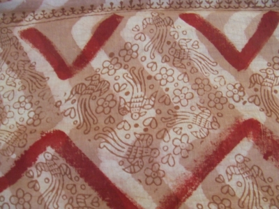 インドで染めた布5