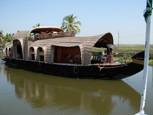 バックウォーターの船