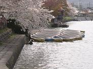 広沢の池・ボート乗り場