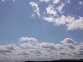 5月の層積雲