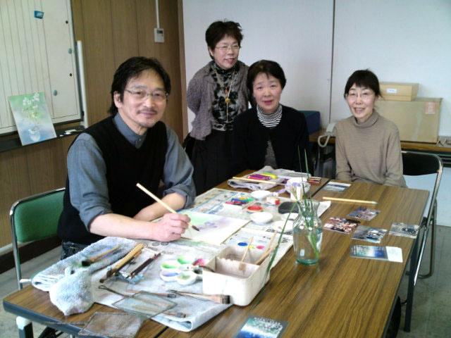 佐々木経二_日本画教室(山口)