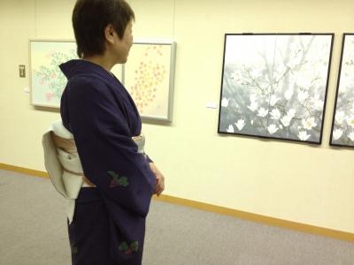 2012_佐々木経二 日本画のきもの
