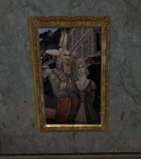 トルシェーとカトリーヌの肖像画