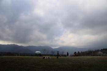 午後は曇り。