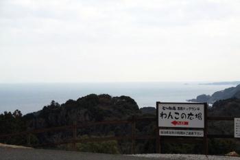 海が見えるドッグラン