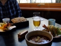 私は天せいろでyamaさんは天ぷらそば。