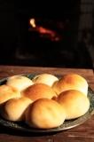 朝のテーブルパンもついでに焼いてみたが。
