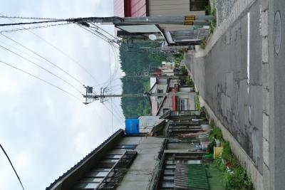 沖田面小学校への道