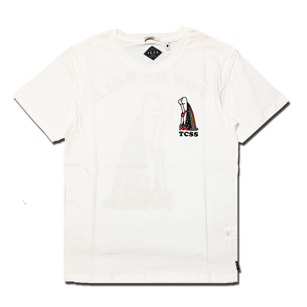 TCSS POT OF GOLD TEE ティーシーエスエス メンズ Tシャツ ホワイト BLANC sft1612