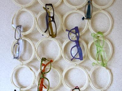 どうせならオシャレに飾ろう♪眼鏡の収納アイデア☆